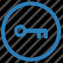 access, key, keyboard, pin icon