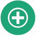 med, medicine, pills, plus, treatment icon