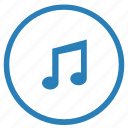 composition, music, note, sound icon