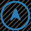 cursor, location, navigator, place icon