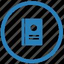 call, id, identity, passport, scan icon