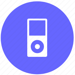 device, ipod, listen, music, player icon