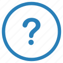 ask, function, message, quest, question icon