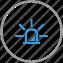 anti, attention, signal, signalization, theft, warning icon