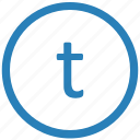keyboard, letter, lowcase, t, virtual icon