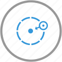 anti, area, object, signal, theft, warning icon