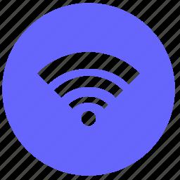 access, dot, internet, wifi icon