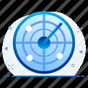 dartboard, focus, shoot, target icon