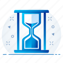hourglass, loading, refresh, sand clock, sand timer, sandglass, wait icon