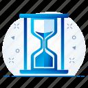 hourglass, loading, refresh, sand clock, sand timer, sandglass, wait icon