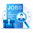 business, find, job, office, search icon