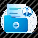details, business, profile icon