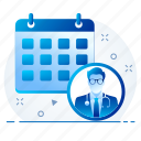 appointment, calendar, calender, event, schedule icon