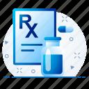 doctor, healthcare, medical, pharmacy, prescription icon