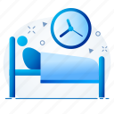 bed, hospital, medical, patient, room icon