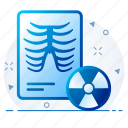 healthcare, medical, radiology, report, xray icon