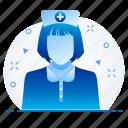 female, doctor, sister, nurse, hospital, lady