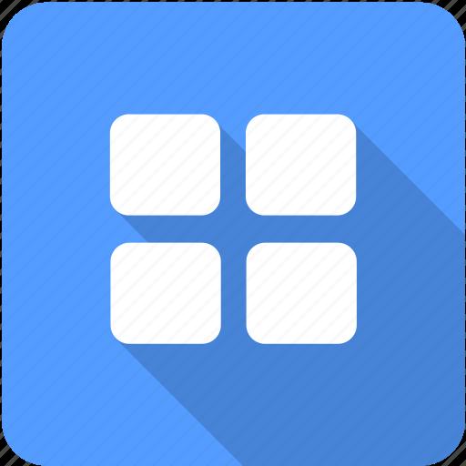 Menu, window, interface icon