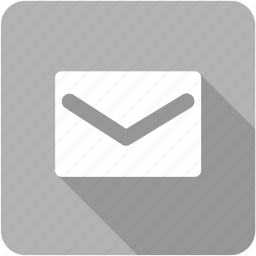 e-mail, empty, envelope, mail, message, send icon