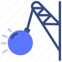 construction, machinery, tools, material icon