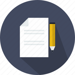 archive, document, draw, edit, file, pencil, writing icon