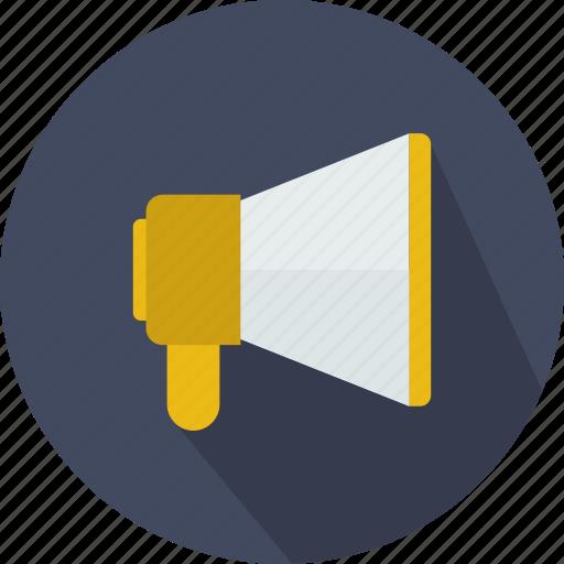 advertising, loud, marketing, megaphone, speaker icon