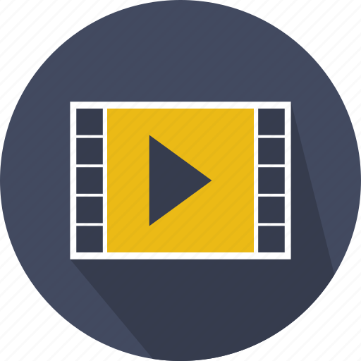 interface, movie, option, play, player, video icon