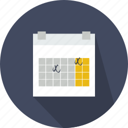 administration, calendar, calendars, date, interface, organization, time icon