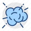 burst, exploding, bang, blow up, cloud, detonate, idea icon