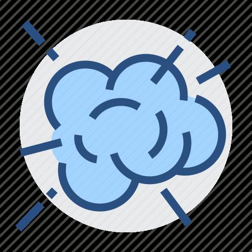 Burst, exploding, bang, blow up, cloud, detonate, idea icon - Download on Iconfinder