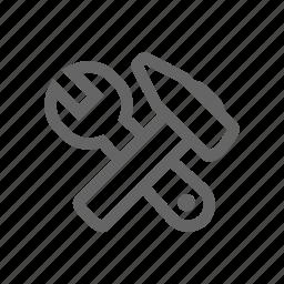 settings, tool, tune icon