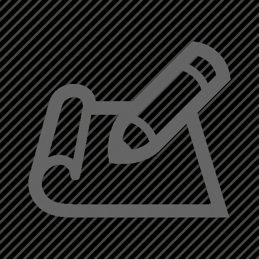 Paper, pen icon | Icon search engine