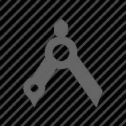 compasses, tool icon