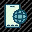 internet, mobile, network, smartphone