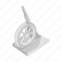boardgames, cannon, cannon monopoly, games, monopoly, toy icon
