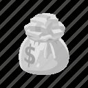 boardgames, dollars, games, money, money bag, monopoly, toy icon