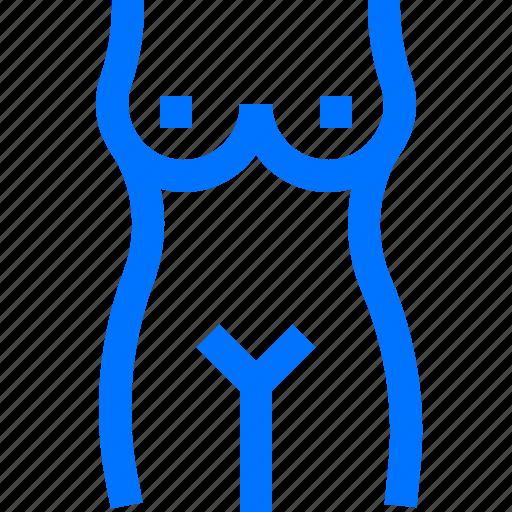 body, female, fitness icon