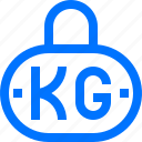 body, equipment, fitness, kettlebell, weight icon