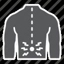 human, back, pain, spine, backache, ache icon
