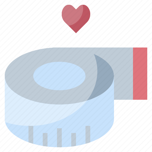 Fitness, measure, measuring, tape, wellness icon - Download on Iconfinder
