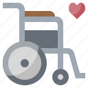 accessibility, disabled, medical, transport, transportation, wheelchair icon