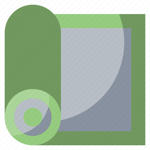 Fitness, gym, mat, yoga icon - Download on Iconfinder
