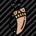 archer, bohemian, boho, bow, weapon