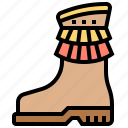 boots, clothing, fashion, footwear, shoes icon