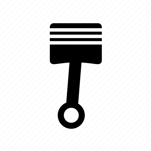 car, forcer, part, piston icon