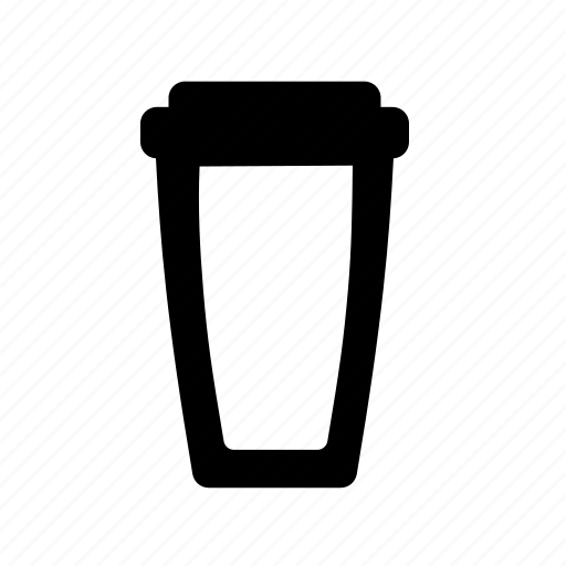 beverage, coffee, cup, drinking equipment, empty plastic cup icon