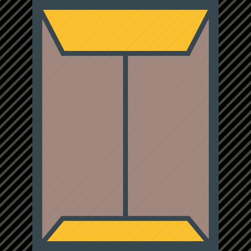 a4, big, communication, envelope, format icon