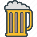 alcohol, beer, drink, drinking, glass icon