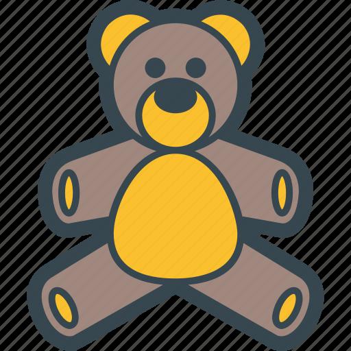 animal, baby, bear, teddy, toy icon