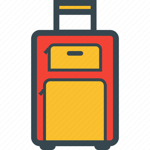 bag, carry, luggage, on, suitcase icon
